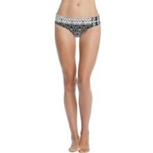 Karen Kane Montego Brief Bikini Bottoms (For Women) in White/Black - Overstock