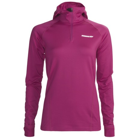 Karhu Arctic Pullover - Hooded (For Women) in Fuchsia