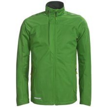 Karhu Delta Jacket - Soft Shell (For Men) in Green/Black - Closeouts