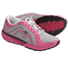 Karhu Fast 4 Fulcrum Ride Running Shoes (For Women) in Cloud/Double Pink - Closeouts