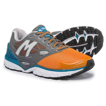 Karhu Fast 6 MRE Running Shoes (For Men) in Charcoal/Mykonos - Closeouts