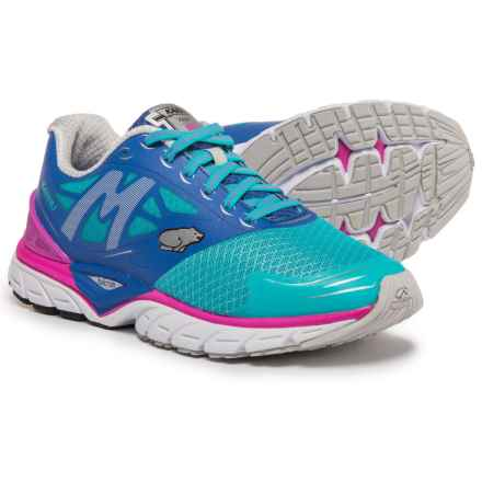 Karhu Fast 6 MRE Running Shoes (For Women) in Scuba Blue/Dazzling Blue/Fuchsia - Closeouts