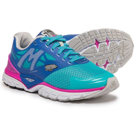 Karhu Fast 6 MRE Running Shoes (For Women) in Scuba Blue/Dazzling Blue/Fuchsia