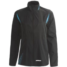 Karhu Fast Jacket (For Women) in Black/Teal - Closeouts