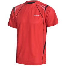 Karhu Fast T-Shirt- Short Sleeve (For Men) in Red/Black/White - Closeouts