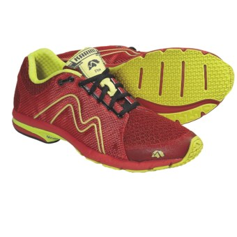 Karhu Flow Fulcrum Ride Running Shoes (For Men) in Formula One/Scream