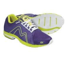 Karhu Flow Fulcrum Ride Running Shoes (For Women) in Bright Violet/Scream - Closeouts