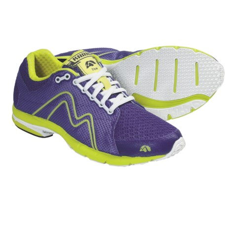Karhu Flow Fulcrum Ride Running Shoes (For Women) in Bright Violet/Scream
