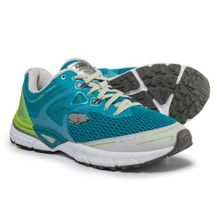 Karhu Fluid 5 MRE Running Shoes (For Men) in Blue Jewel/Jasmine Green - Closeouts