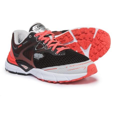 Karhu Fluid 5 MRE Running Shoes (For Women) in Hot Coral/Jet Black