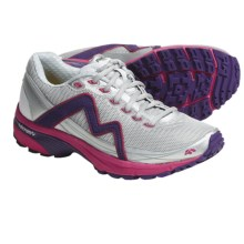 Karhu Fluid Fulcrum Ride Running Shoes (For Women) in Silver/Russian Rose - Closeouts