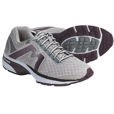 Karhu Forward Fulcrum Ride Running Shoes (For Women) in Charcoal/Violet