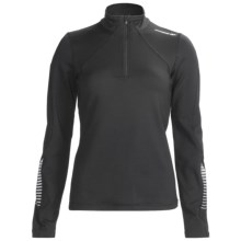 Karhu Forward Pullover - Zip Neck, Long Sleeve (For Women) in Black - Closeouts
