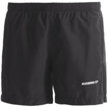 Karhu Forward Shorts - Built-In Brief (For Women) in Black - Closeouts