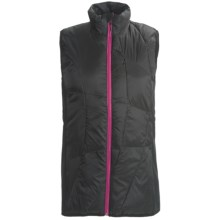 Karhu PrimaLoft® Running Vest (For Women) in Black/Fuchsia - Closeouts