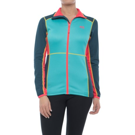 Kari Traa Hege Fleece Jacket (For Women) in Lblue