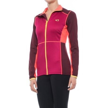 Kari Traa Hege Fleece Jacket (For Women) in Ruby