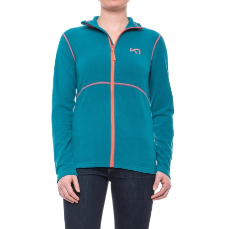 Kari Traa Kari Fleece Jacket (For Women) in Nsea