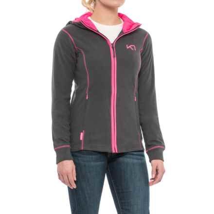 Kari Traa Tina Fleece Hoodie (For Women) in Ebony - Closeouts