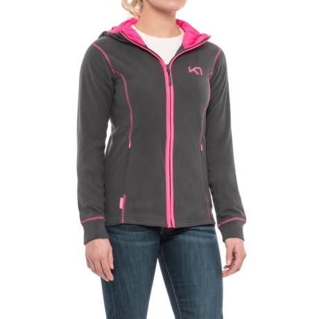 Kari Traa Tina Fleece Hoodie (For Women) in Ebony