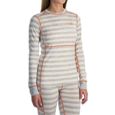 Kari Traa Ulla Base Layer Top - Merino Wool, Long Sleeve (For Women) in Greym - Closeouts