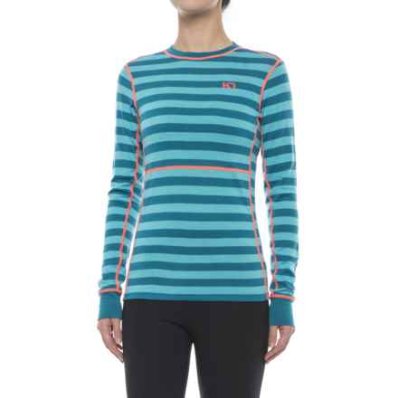 Kari Traa Ulla Base Layer Top - Merino Wool, Long Sleeve (For Women) in Nsea - Closeouts
