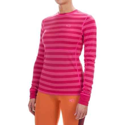 Kari Traa Ulla Base Layer Top - Merino Wool, Long Sleeve (For Women) in Rose - Closeouts