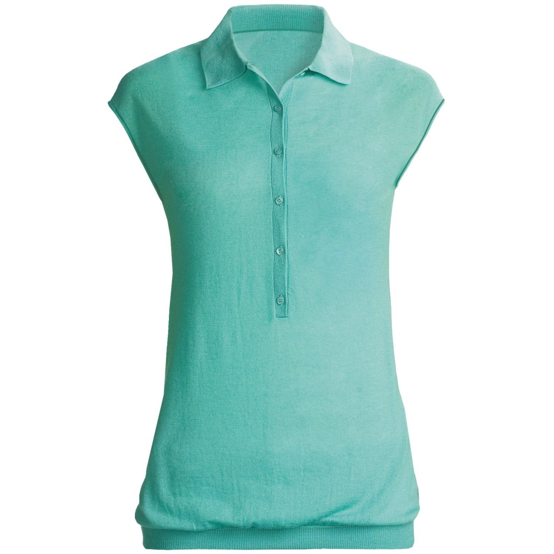 Sleeveless polo shirts plus size uk for Plus size sleeveless golf shirts