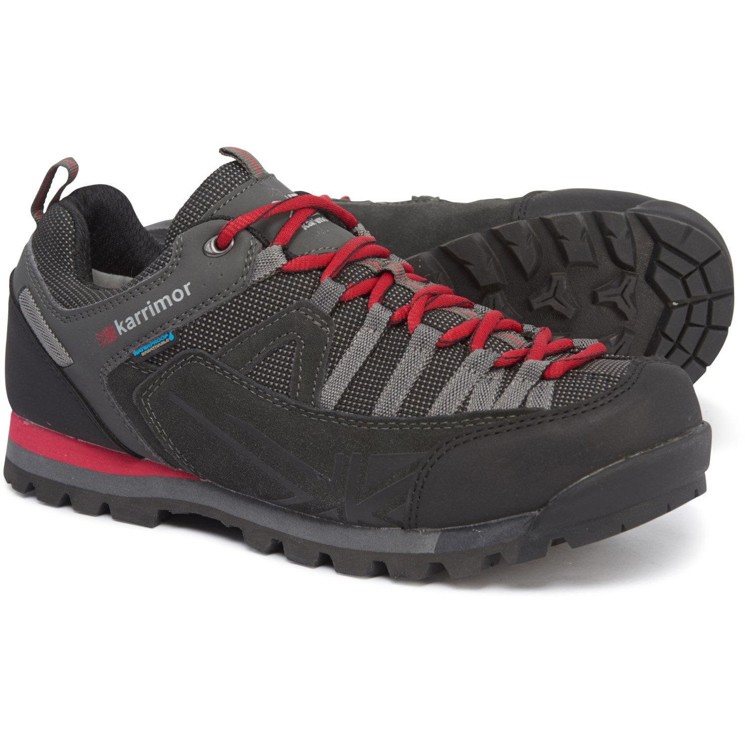 save off 46d27 c9954 Karrimor Spike Low 3 Weathertite Hiking Shoes - Waterproof, Suede (For Men)