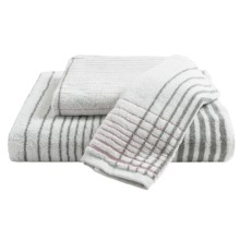 Kassadecor Crosby Stripe Bath Towel in Rose Quartz - Overstock