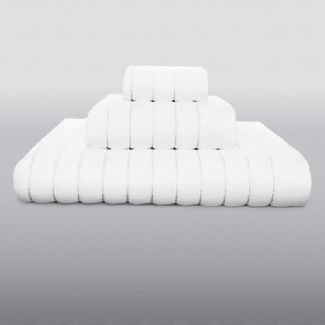Kassatex Fine Ring-Spun Cotton Hand Towel - 600gsm, Luxury Stitch in Latte