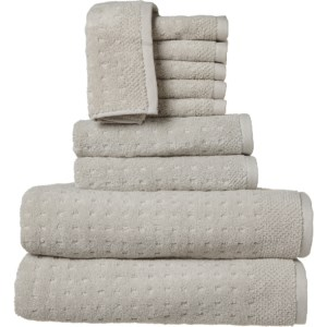 kassatex-mesh-spa-bath-towel-set-10-piec