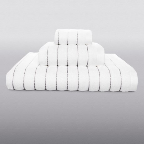 Kasstex Fine Ring-Spun Cotton Bath Towel - 600gsm, Luxury Stitch in Bark