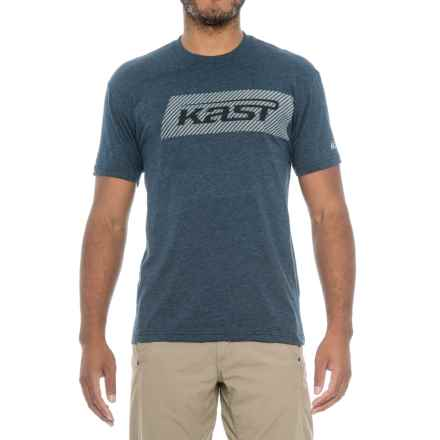 Kast Gear Black Ops T-Shirt - Short Sleeve (For Men) in Navy - Closeouts