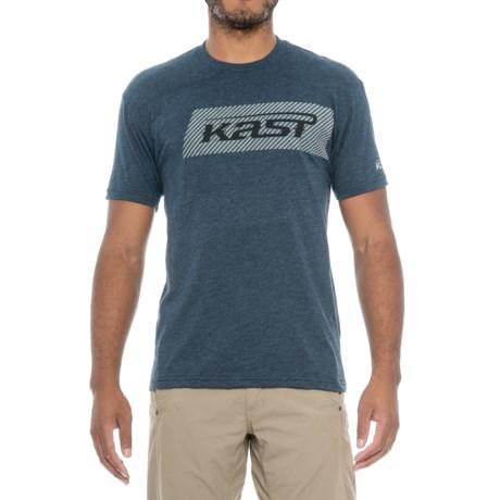 Kast Gear Black Ops T-Shirt - Short Sleeve (For Men) in Navy