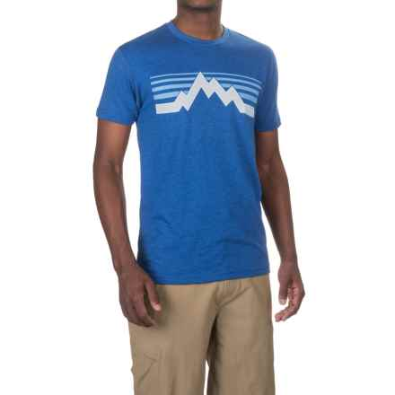 Kast Gear Teton T-Shirt - Crew Neck, Short Sleeve (For Men) in Cobalt - Closeouts