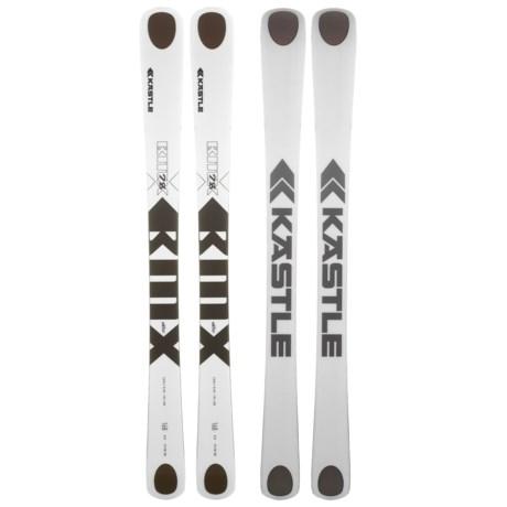 Kastle BMX 78 Alpine Skis in See Photo