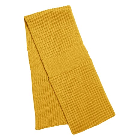 Katherine Barclay Double-Layer Scarf - Wool Blend (For Women) in Curry
