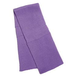 Katherine Barclay Double-Layer Scarf - Wool Blend (For Women) in Iris