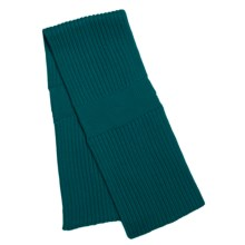 Katherine Barclay Double-Layer Scarf - Wool Blend (For Women) in Teal - Closeouts