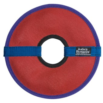 Katie's Bumpers Frequent Flyer Fetch Toy - Circle in Red