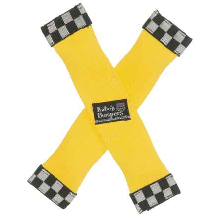 Katie's Bumpers X Fire Hose Dog Toy in Yellow - Closeouts