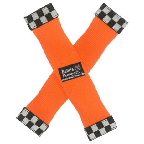 Katie's Bumpers X-Toy Dog Toy in Orange