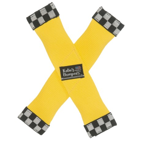 Katie's Bumpers X-Toy Dog Toy in Yellow
