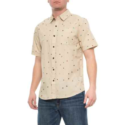 Katin Wool High Peaks Shirt  - Short Sleeve (For Men) in Wool