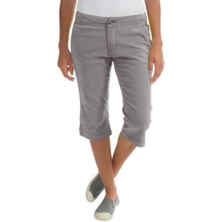 Kavu Avalon Chop Capris (For Women) in Grey - Closeouts