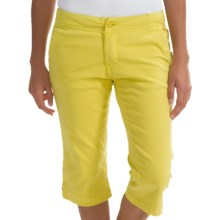 Kavu Avalon Chop Capris (For Women) in Lemon Drop - Closeouts