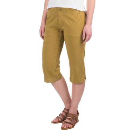 Kavu Avalon Chop Capris (For Women) in Olive - Closeouts