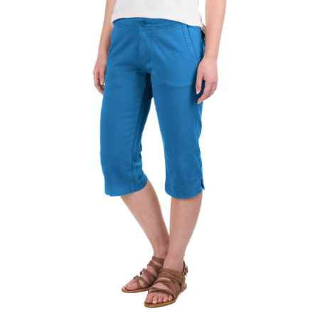 Kavu Avalon Chop Capris (For Women) in River Blue - Closeouts