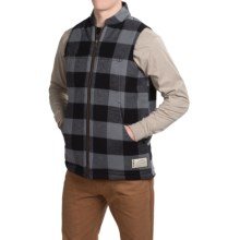 Kavu Backwoods Vest (For Men) in Black Smoke - Closeouts